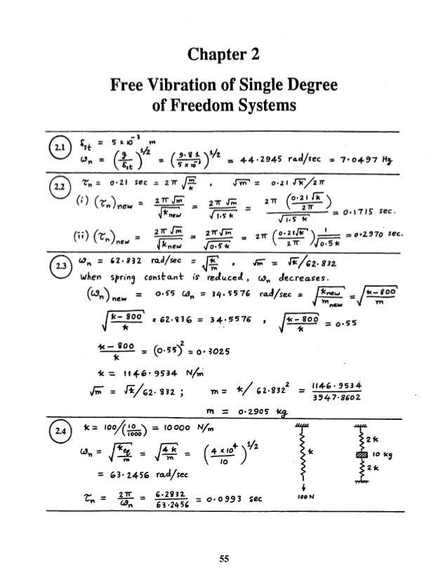 Drive Right Chapter 2 Worksheet Answers and Mechanical Vibrations by Ss Rao 4th Edition solution Manual Chapter 02