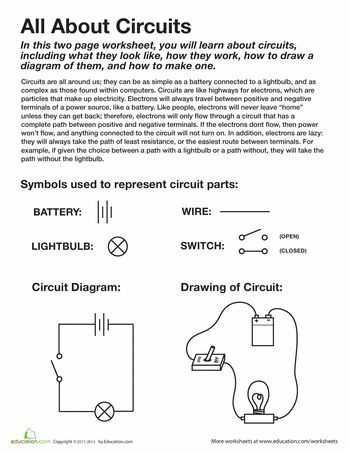 Electric Circuits and Electric Current Worksheet Answers or 83 Best Electric Circuits Images On Pinterest