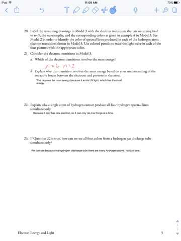 Electron Energy and Light Worksheet Answers with Cosmos Worksheet 2