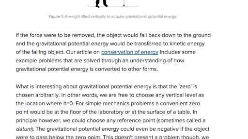 Energy forms and Changes Simulation Worksheet Answers with Conservation Of Energy Video
