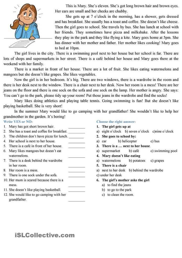 Esl Reading Comprehension Worksheets with 25 Best Reading Paragraphs Images On Pinterest
