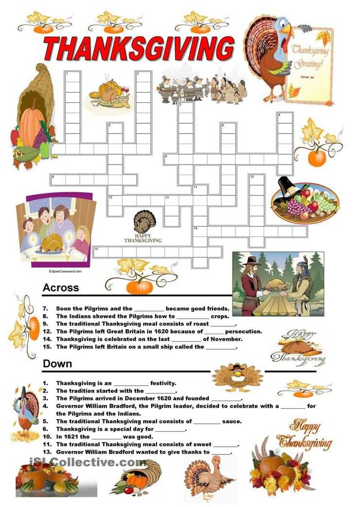 Esl Thanksgiving Worksheets Adults and 26 Best Thanksgiving Images On Pinterest