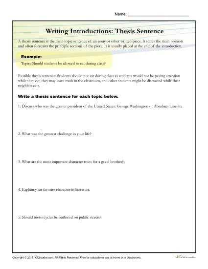 Essay Writing Worksheets and 83 Best Essay Writing Images On Pinterest