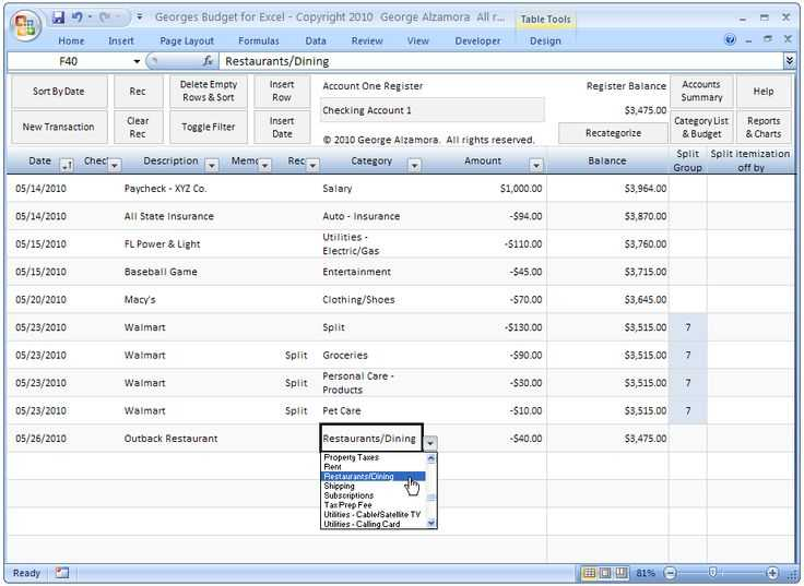 Excel Checkbook Register Budget Worksheet Along with 10 Best Bud Spreadsheet Images On Pinterest