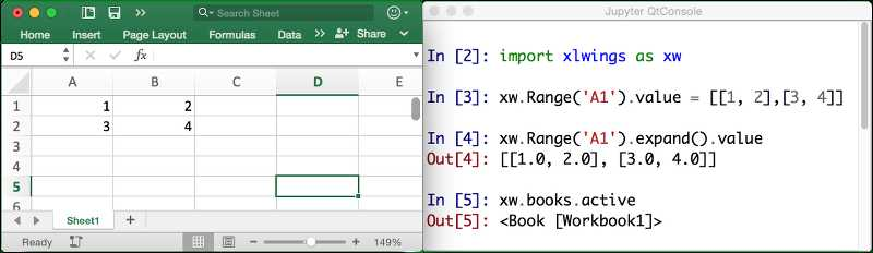 Excel Vba Current Worksheet and Xlwings
