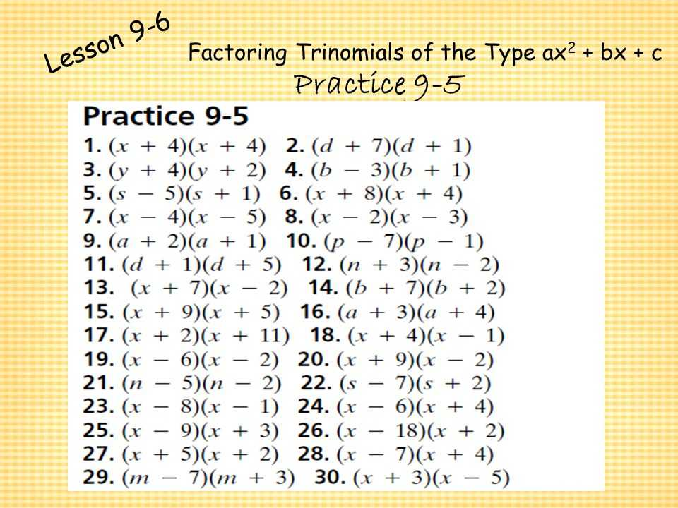 Factoring Trinomials Worksheet with Answer Key Along with Worksheets 44 Inspirational Factoring Polynomials Worksheet Full Hd