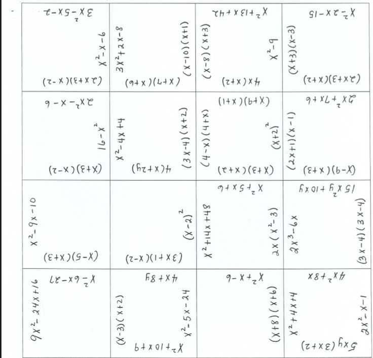 Factoring Trinomials Worksheet with Answer Key with 60 Best Factoring and Quadratics Images On Pinterest