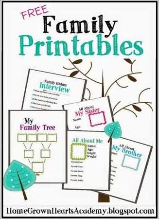 Family Tree Worksheet or Image Result for My School Preschool theme My Family
