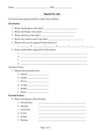 Fetal Pig Dissection Pre Lab Worksheet Answers Along with Fetal Pig Dissection Glossary Mr E Science