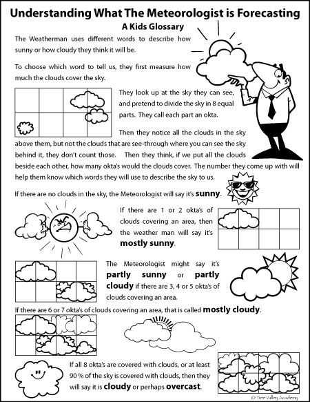 Forecasting Weather Map Worksheet 1 Answers Also Checking the Weather forecast for Kids