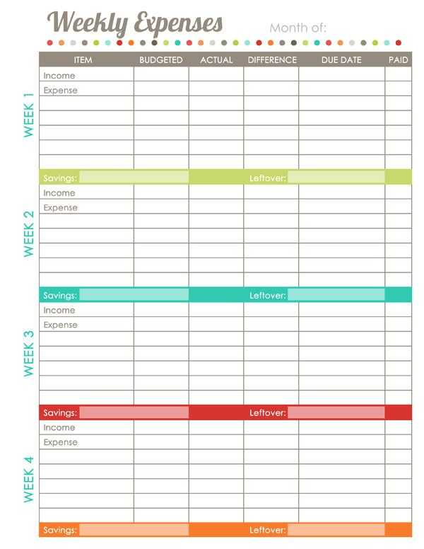 Free Budget Worksheet as Well as 10 Best Writing Planners Images On Pinterest