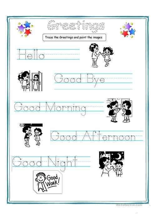 Free Esl Worksheets for Adults Along with Greetings for Kids Worksheet Free Esl Printable Worksheets Made by