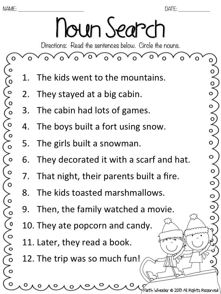 Free Noun Worksheets Along with Worksheets 48 New Adjective Worksheets High Definition Wallpaper