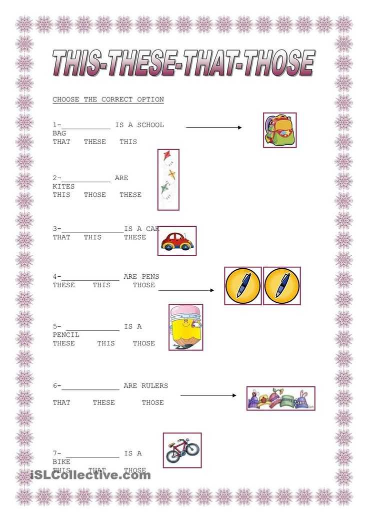 Free Noun Worksheets with 15 Best This that these Those Images On Pinterest