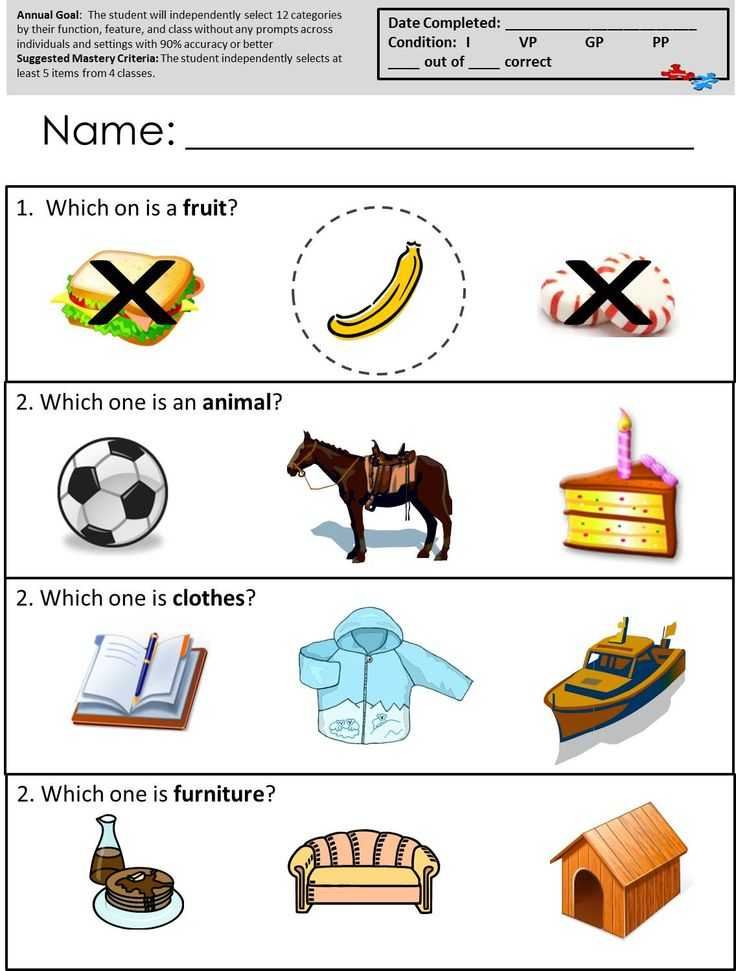 Free Printable Autism Worksheets as Well as 14 Best Autism Worksheets Receptive Language Images On Pinterest
