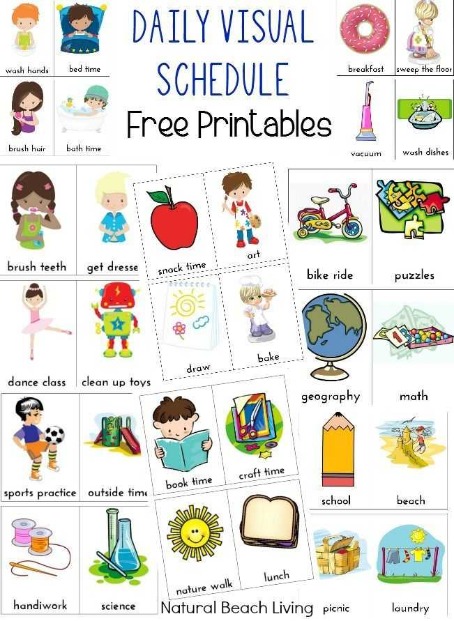 Free Printable Autism Worksheets or Best Preschool & Elementary Special Education Classroom Ideas