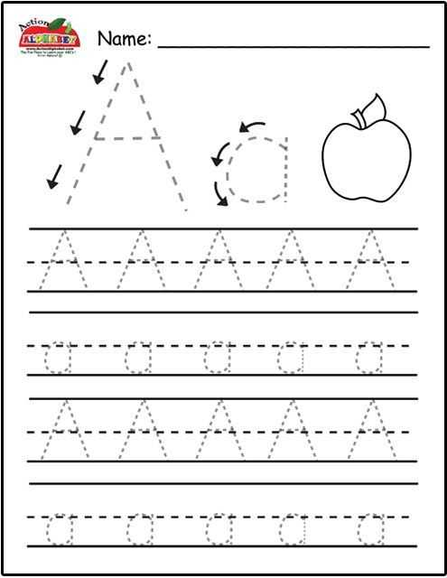 Free Printable Preschool Worksheets Tracing Letters Also Not Only Letter Tracing This Site Has Lists Of All sorts for Each