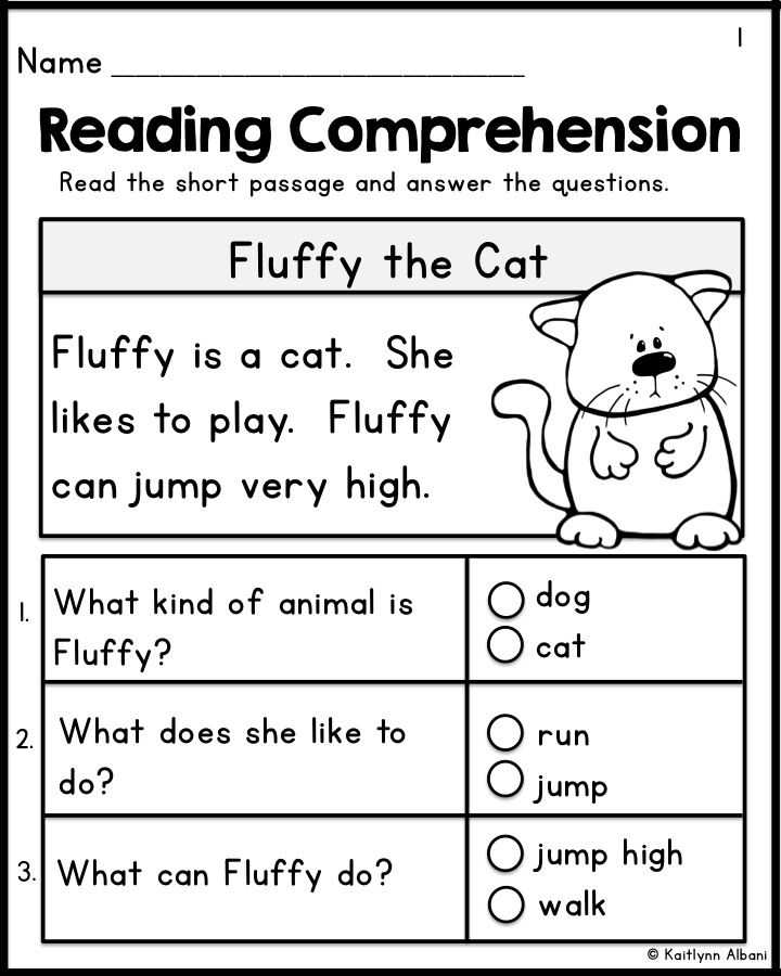 Free Printable Reading Comprehension Worksheets for Kindergarten with 307 Best Reading P Fluency Literacy Images On Pinterest