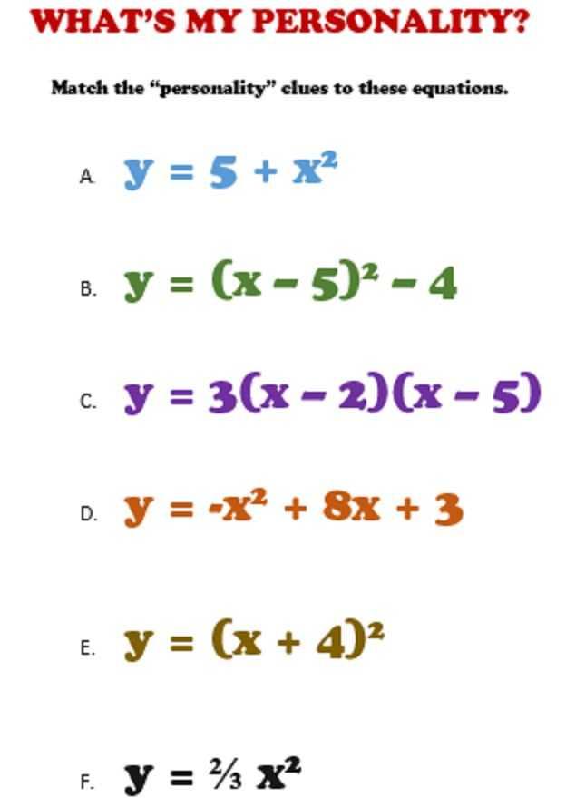 Fun Algebra Worksheets with 218 Best Algebra Images On Pinterest