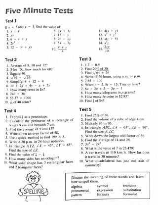 Fun Algebra Worksheets with Math Worksheets Year Maths Revision Free Tes Grade Algebra Pdf 8
