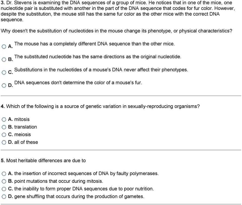 Genetic Engineering Simulations Worksheet Answers or Mutations and Genetic Variability 1 What is Occurring In the