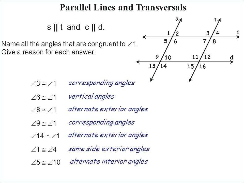 Geometry Parallel Lines and Transversals Worksheet Answers Along with Parallel Lines Geometry Worksheet Choice Image Worksheet Math for Kids