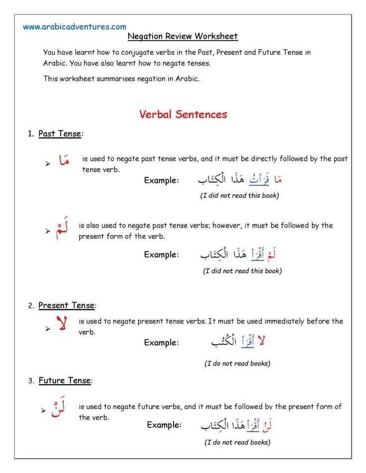 Grammar Review Worksheets or 124 Best Language Arabic Grammar Images On Pinterest