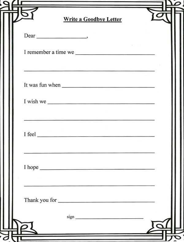 Grief and Loss Worksheets Also 37 Best Grief and Loss Images On Pinterest