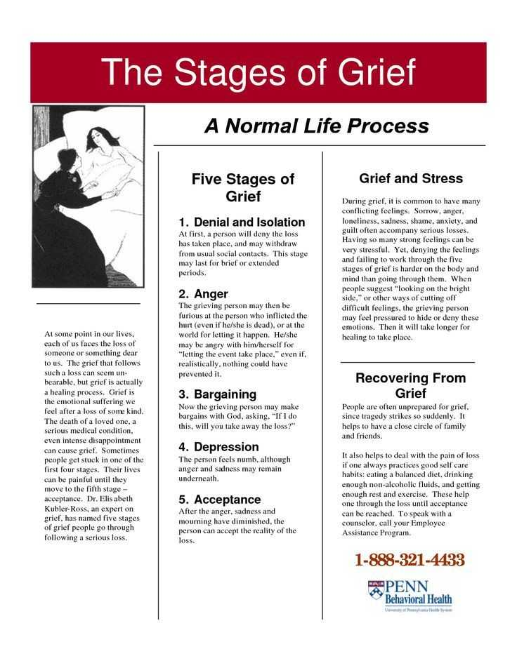 Grief therapy Worksheets together with From Denial to Acceptance the Stages Of assessment Google Search