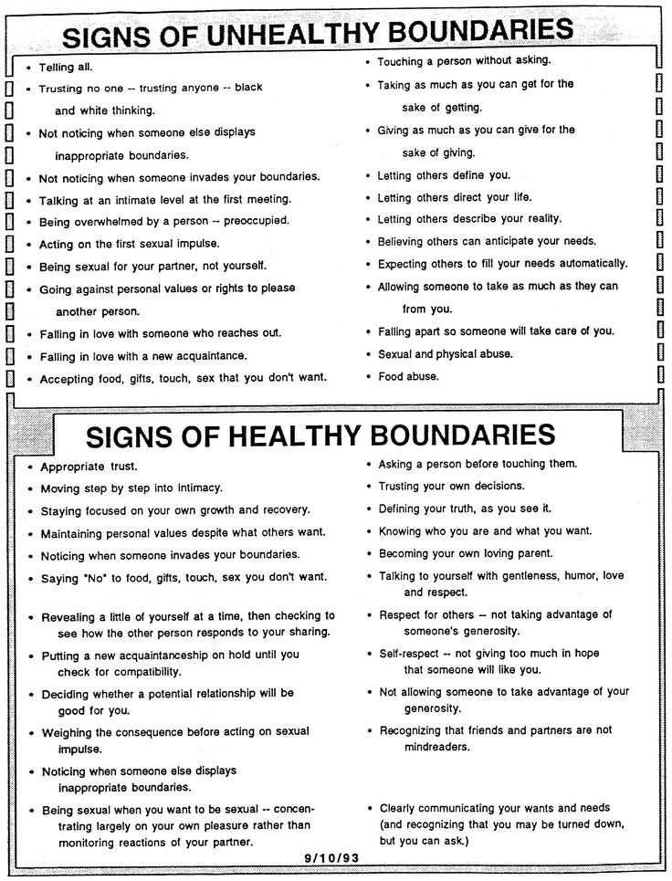Healthy Boundaries Worksheet and 75 Best Domestic Violence Strangulation Images On Pinterest