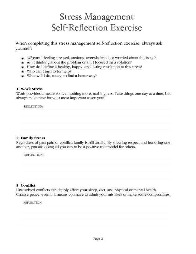 Healthy Living Worksheets Pdf as Well as Stress Management Worksheet Pdf Coaching