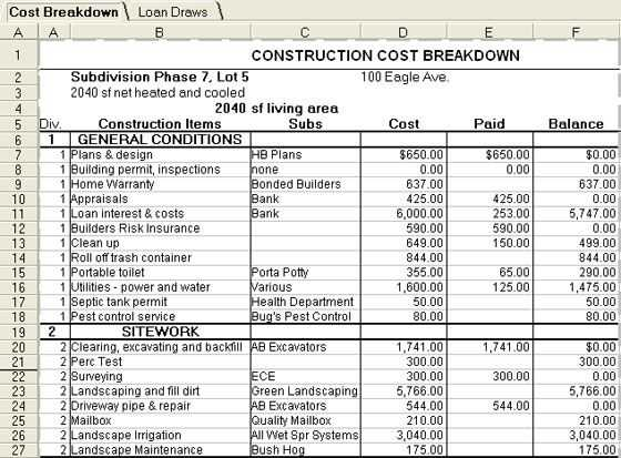 Home Replacement Cost Estimator Worksheet Also 89 Best Estimate Construction Images On Pinterest