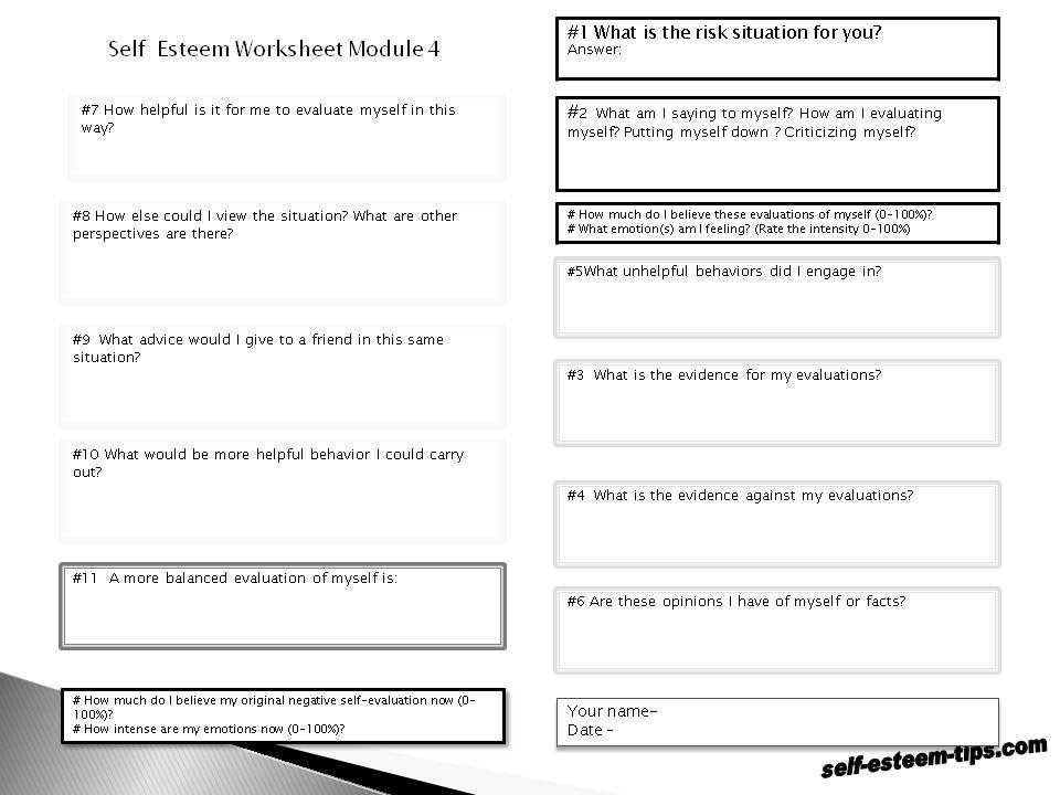 Improving Self Esteem Worksheets as Well as Worksheets 46 Re Mendations Chemical formula Writing Worksheet Hd