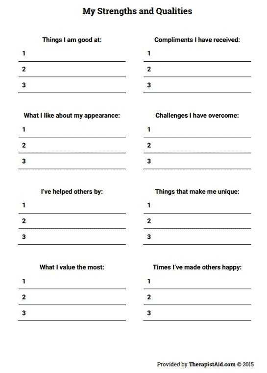 Impulse Control Worksheets Printable Also Relationship Values Worksheet Worksheets for All