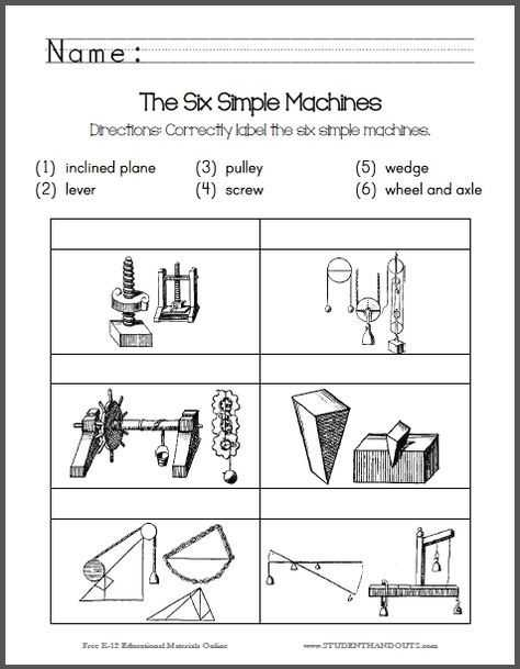 Inclined Plane Worksheet Along with 109 Best Simple Machines Images On Pinterest