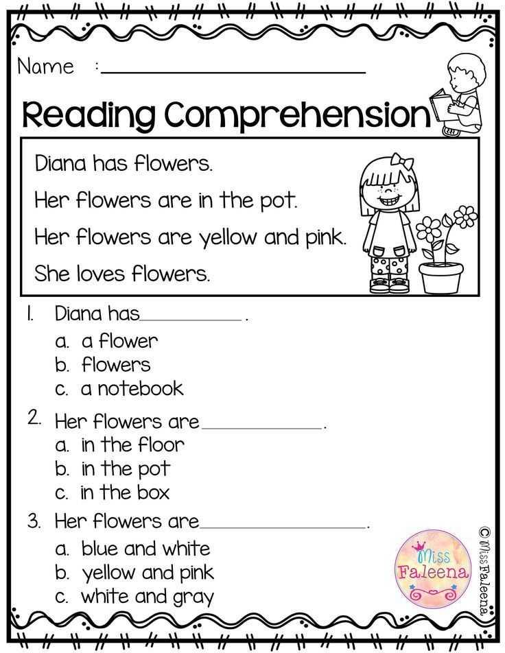 Kindergarten Reading Comprehension Worksheets and 2620 Best Reading Images On Pinterest