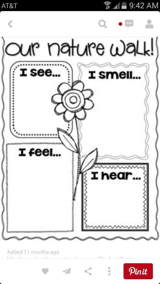 Kindergarten Writing Worksheets and Nature Walk Pixie Hair Style Pinterest