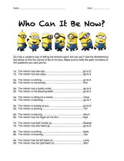 Kingdom Classification Worksheet Answers Also 30 Best Classification Dichotomous Keys Images On Pinterest