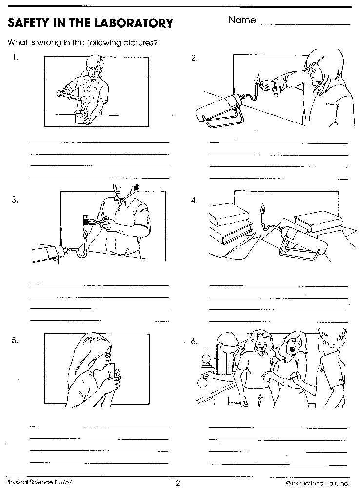 Laboratory Equipment Worksheet and 132 Best Safety In the Science Lab Images On Pinterest