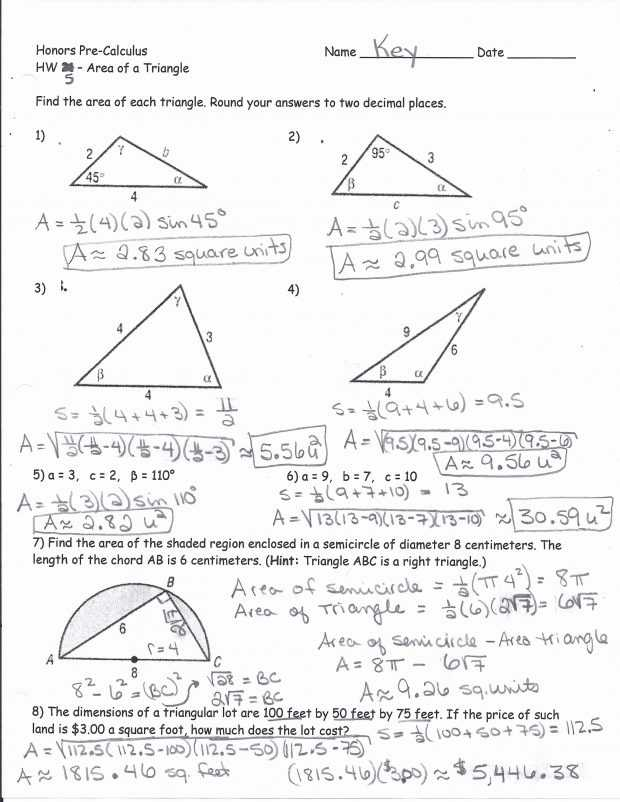 Law Of Sines Practice Worksheet Answers with Worksheets 46 Beautiful Law Sines Worksheet Full Hd Wallpaper