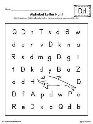 Letter D Preschool Worksheets Along with Alphabet Letter D Worksheets