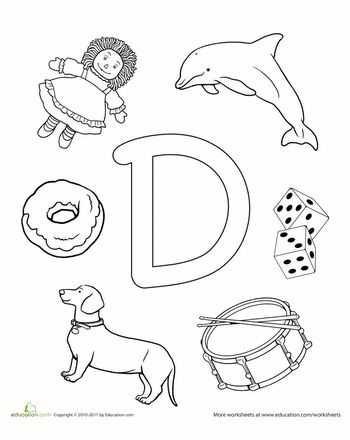 Letter D Preschool Worksheets as Well as 36 Best Dd Letter Activities Images On Pinterest