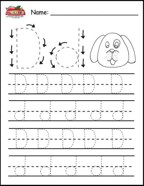 Letter D Preschool Worksheets together with Free Prinatble Aphabet Pages Preschool Alphabet Letters Trace