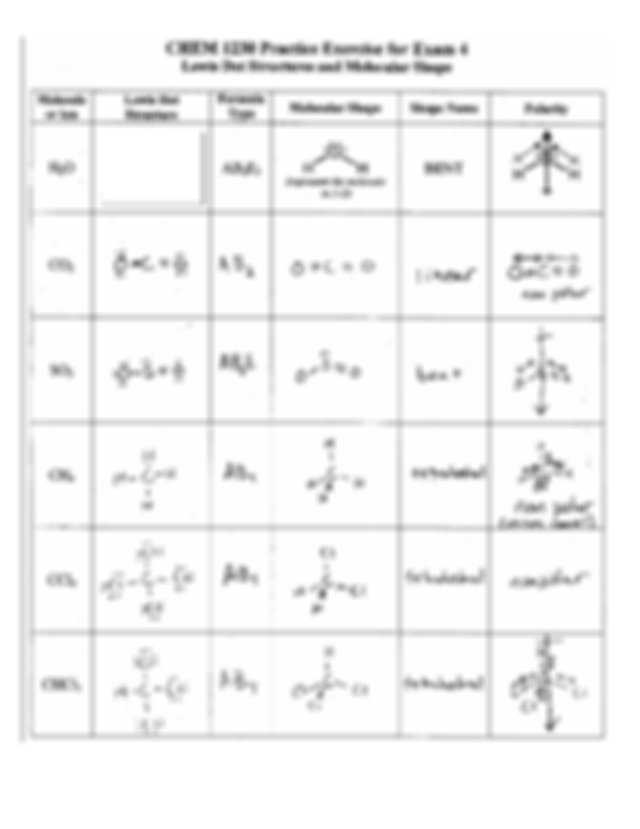 Lewis Structure Worksheet 1 Answer Key Also Lds Worksheetom Carl Modified Molecule Lewis Dot Structure