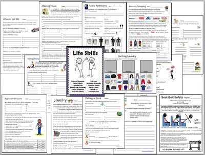 Life Skills Worksheets for Middle School and 92 Best Life Skills Images On Pinterest