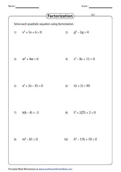 Linear Quadratic Systems Worksheet or This assortment Of 171 Worksheets is Based On Quadratic Equation and