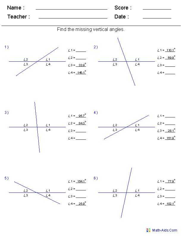 Lines and Angles Worksheet Also 128 Best Mathematics Images On Pinterest