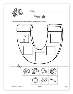 Magnetism Worksheet Answers and Magnets Worksheet Science Science Pinterest