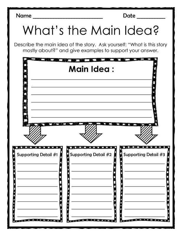 Main Idea Worksheets Pdf with 187 Best theteachertreasury Images On Pinterest