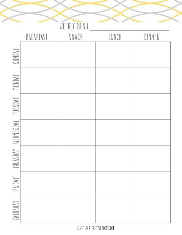 Meal Planning Worksheet Also 655 Best Meal Prep Planner Templates Images On Pinterest
